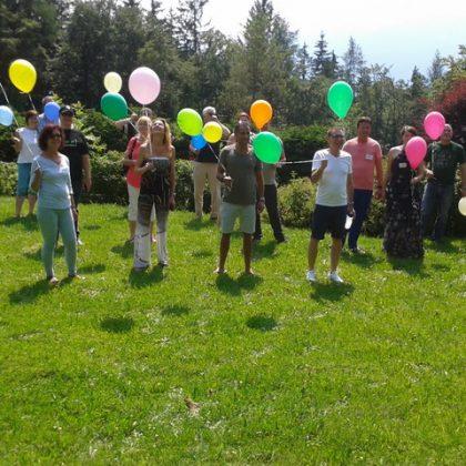 Foto Personen Luftballon